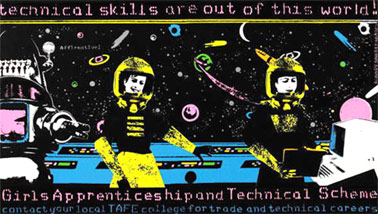 'Technical skills are out of this world! Girls Apprenticeship and Technical Scheme', 1985.