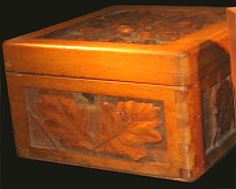 Carved Box c.1915-1919
