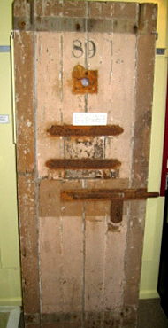 Gaol Cell Door c.1840s