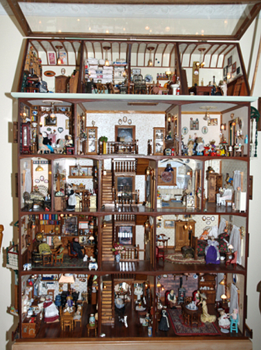 Dollhouse. Image courtesy Powerhouse Museum