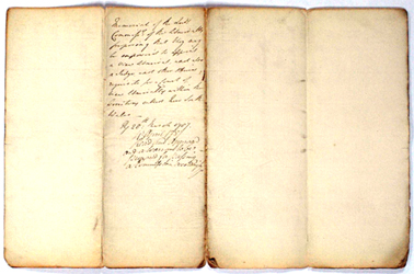 Draught Instructions for Governor Phillip, 25 April 1787