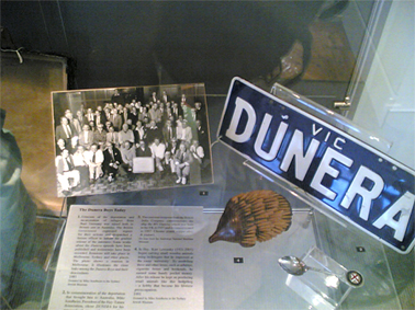 Dunera Boys ephemera. Photograph Stephen Thompson