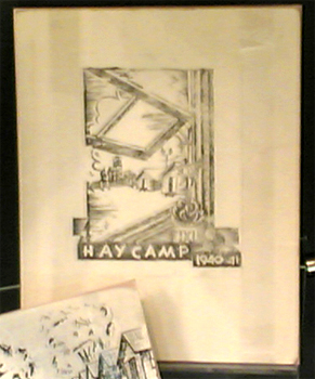 Hay Camp print made by Alfred Landauer, 1940-41. Photograph Stephen Thompson