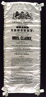 Grand Concert, Royal Victoria Theatre, Hobart, 1841, Tasmania Library