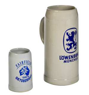 Fairfield Oktoberfest beer steins