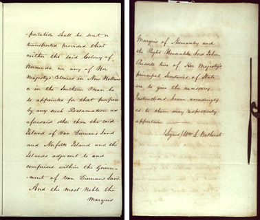 Order-in-Council ending transportation to New South Wales, 22 May 1840 SRNSW pp9-10