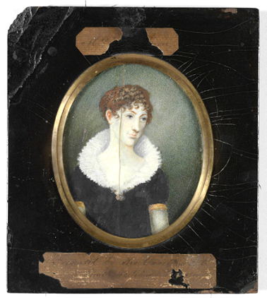 Elizabeth Macquarie miniature portraits, 1810 MIN7 SLNSW