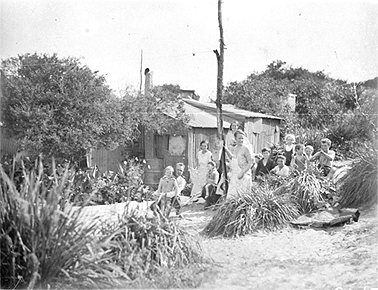 Happy Valley unemployed camp, La Perouse. C.1932 Courtesy State Library of NSW