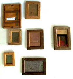Photograph printing photograph equipment, frames c.1900