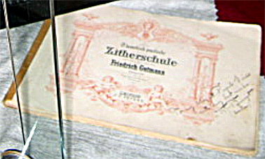 Zither music book c.1900