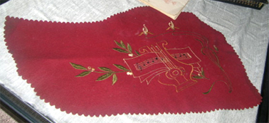 Zither Cover c.1900