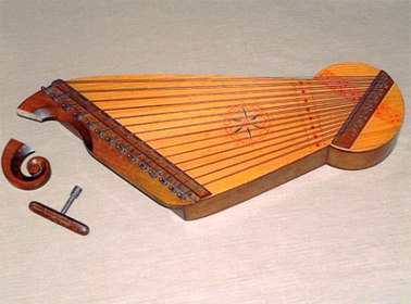Kankles zither. PHM