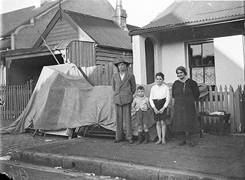 An original Anzac, and his family evicted from their Redfern home