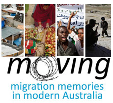 Moving: migration memories in modern Australia