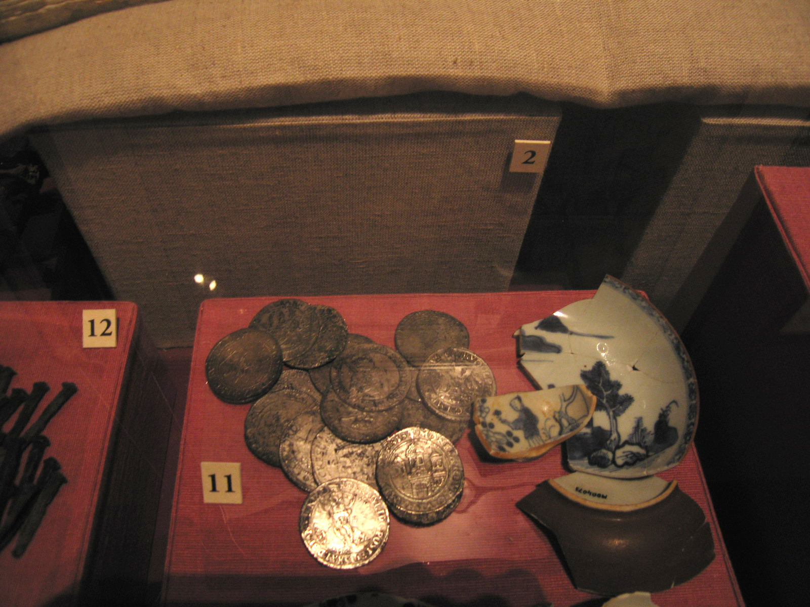 Vergulde Draeck Coins, 1656. Photograph Stephen Thompson