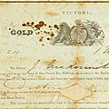 Gold Mining Licence c.1853
