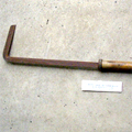 Tweed cane stripper hook c.1960s