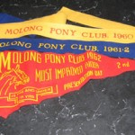 """They're for competitions. I know the blue one is supposed to be first [prize]. They had a pony club in Molong so it was a good way of getting out from things you had to do [at Fairbridge Farm]."""