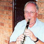 """I played this old clarinet in Holland. It no longer can be played but I've kept it for sentimental reasons."""
