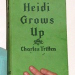 """My eldest sister acted like a mother to us after Mum died. She sent me this Heidi book from England around 1954. I have no idea how I've still got it, I must have hid it. It was unusual for children to receive parcels at Fairbridge and they took your things from you."""