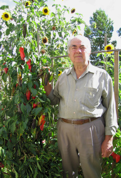 """I still have a vegetable garden every year [and] supply myself."""