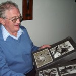 """These photo albums document my life from my pre-WW2 travels to joining the Bondi water polo team and North Bondi Surf Club."""