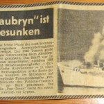"""The Skaubryn made the news in Germany and an article was written about our family in Broken Hill."""