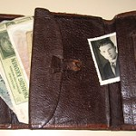 """I bought this wallet peacetime in Estonia. Then you can buy anything what you want."""