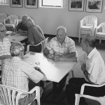 Members of a Co.As.It. Italian Social Support Group playing cards, Leichhardt, NSW 2003. Courtesy of Co.As.It.