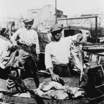 Giuseppe arrived in Australia in 1920 and pioneered the 'set line' fishing method out of Wollongong. Courtesy of the Puglisi family