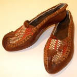"""These traditional Serbian shoes were purchased in Lika in Croatia and are important in knowing some of my heritage."""