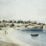 Frenchmans Bay, Jordan, J.W. 1868, watercolour. Courtesy National Trust of Australia