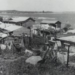 Russian Migrants Camp at Frog Hollow at La Perouse c.1950s Courtesy Randwick City Library