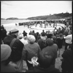 Tubowgule, ceremonial performance at Congwong Beach, August 2000. Photograph by Loui Seselja. National Library of Australia