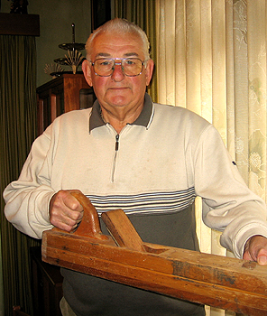 """This was a gift from my uncle who had been a cabinetmaker in Austria. I used it in my profession and brought it to Australia where I used it in the construction of my house."""