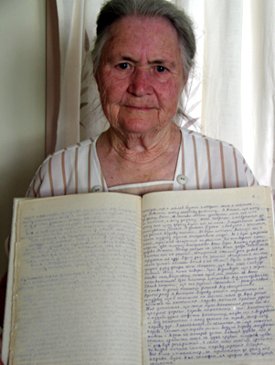"""I have kept the diary since being in Australia. I have written down everything that I could remember; how it happened, where I was, what I was doing and things like that."""