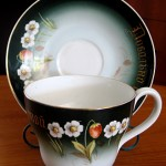 This beautiful, big cup & saucer has been in our family for as long as I can remember.""