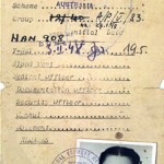 """I have kept my medical and x-ray certificates from 1948. These were compulsory documents when we were immigrating to Australia."""