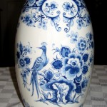 """Delftware was made in the 16th to 18th centuries and comes from Delft in the Netherlands. I would never part with [this vase] which is particularly fine."""