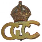 German Concentration Camp Guard insignia from Holsworthy Camp. Liverpool Regional Museum. Photograph Stephen Thompson