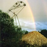 In the 1960s the first prototype of a self-tipping, automatic hoist was invented by a miner crippled by childhood polio, who wanted to work alone and at his own pace. Today, a Super Hoist is linked to a hydraulic digger and small front end loader underground. Lightning Ridge Historical Society