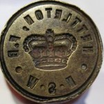 Nettleton Postal Seal. Lightning Ridge Historical Society