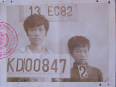 """That photo was taken [as identification] when we got into the transit camp closer to Bangkok."""