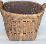 Basket belonging to Narrandera Chinese market gardener King Fan, c.1900. Photograph Janis Wilton.