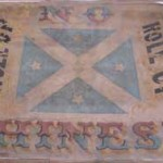 'Roll Up' banner, 1860, Young Museum, NSW, Australia.