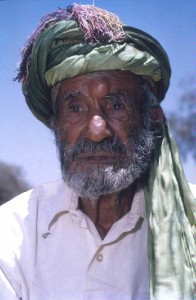 Saidah Saidel, 'last of the Afghan camel drivers' c.1960s. Courtesy Northern Territory Library
