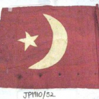 The Ottoman flag made by Gool and Abdullah. Courtesy of Justice & Police Museum