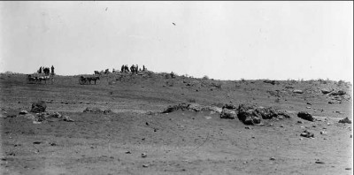 The scene of the gun battle at Cable Hill. Courtesy State Library of South Australia