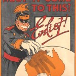 Must it come to this? Enlist! Poster, c.1916. Courtesy Australian War Memorial