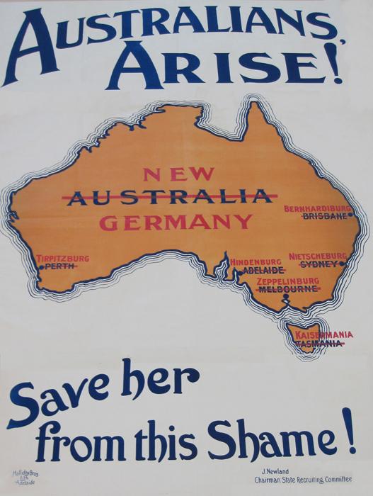Dates of ww1 in Brisbane